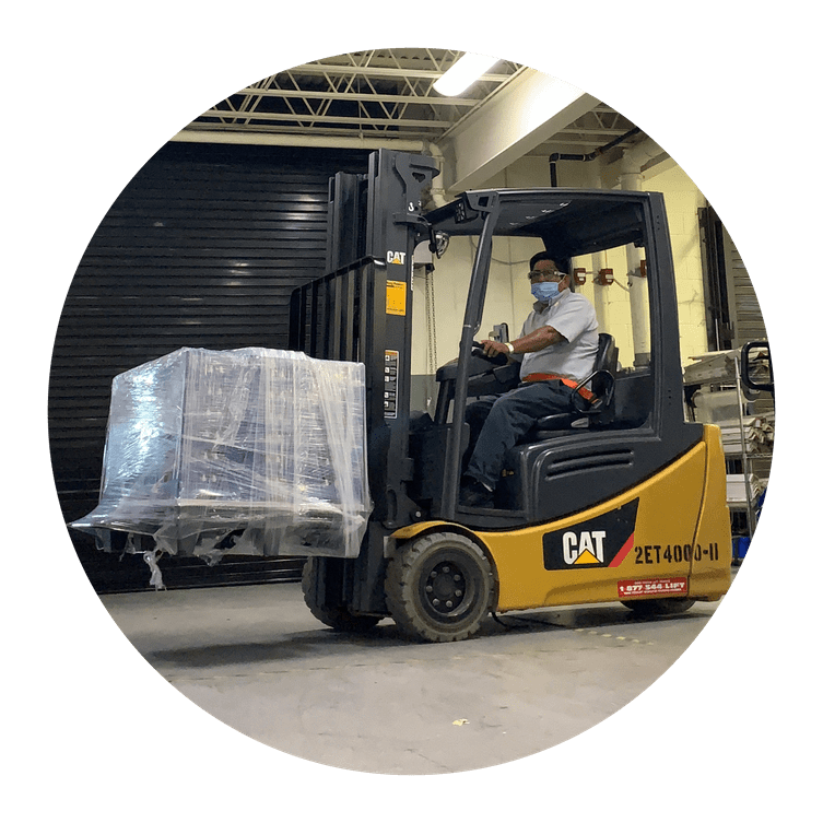 Ring Power Lift Trucks Cat Electric Sit Down