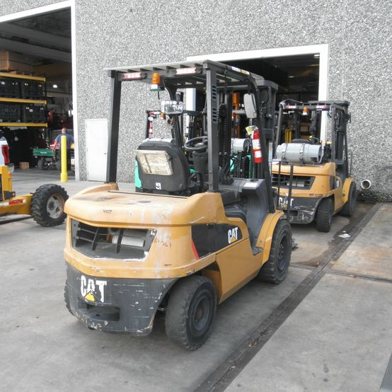 Ring Power Lift Trucks Used reconditioning before